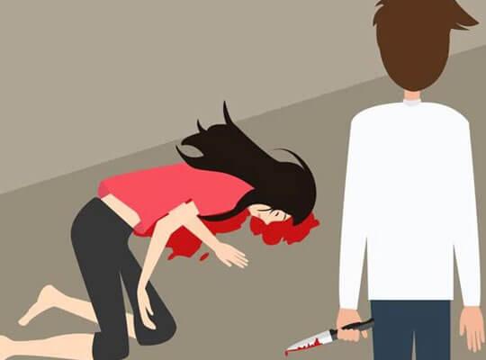 【グロ動画】キチガイに目を付けられた女の子が道路の真ん中でナイフで刺されまくってる殺人映像・・・