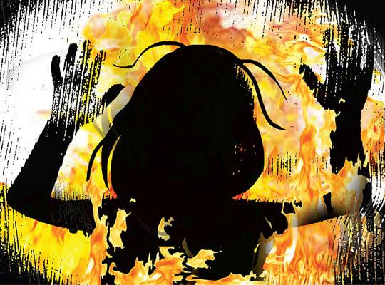 【私刑】少女が群衆にリンチ 生きたまま燃やされ処刑されていく・・・ ※グロ動画