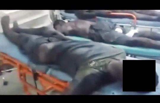 【閲覧注意】銀行強盗をした少年達、激戦の末無残な死体で逮捕・・・