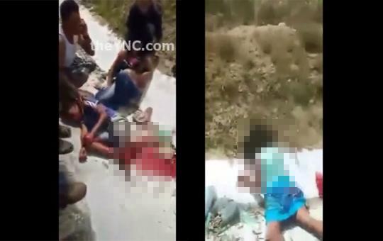 【グロ動画】小さい兄妹が事故で虫の息なのは見るのつらすぎる・・・
