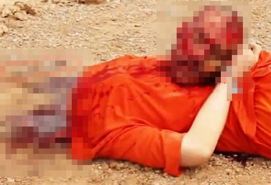 【イスラムグロ】過激派ISISがポケットナイフで首切ってるんだが・・・