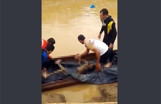 【グロ注意】14歳少年が川で泳いだら白骨死体になった・・・※閲覧注意