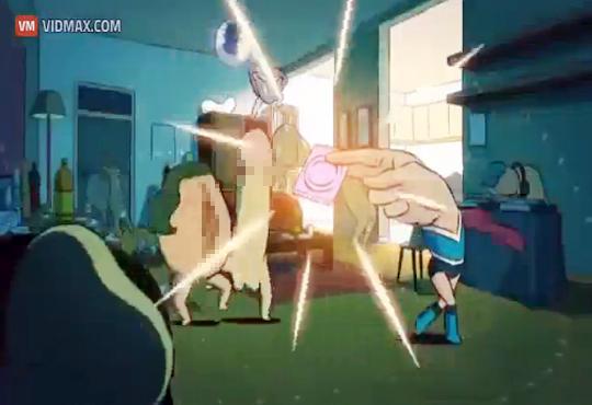 【エログロ】コンドームのアニメCMが色々エロ過ぎる件w