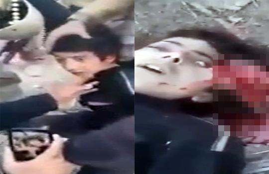 【グロ注意】ISISは敵対宗教だと子供でも簡単に殺す・・・ ※閲覧注意