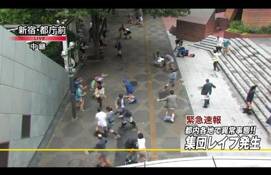 【エログロ】東京で最悪の集団レイプ事件!ガチ犯されてるぞこれ・・・