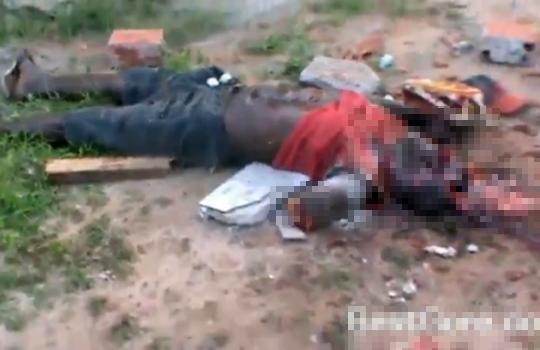 【閲覧注意】ブラジルの残忍な殺人事件、腕を切断され頭をカチ割られ複数刺された死体
