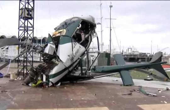 【ハプニング】ヘリコプターの悲惨な事故をまとめた一品
