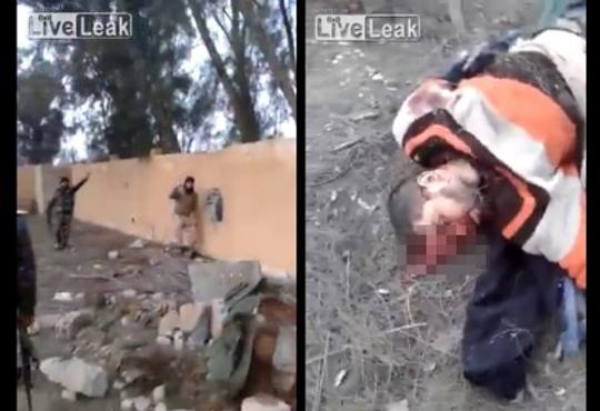 【閲覧注意】戦闘機に攻撃された後のISIS(イスラム国)アジトの様子(動画)
