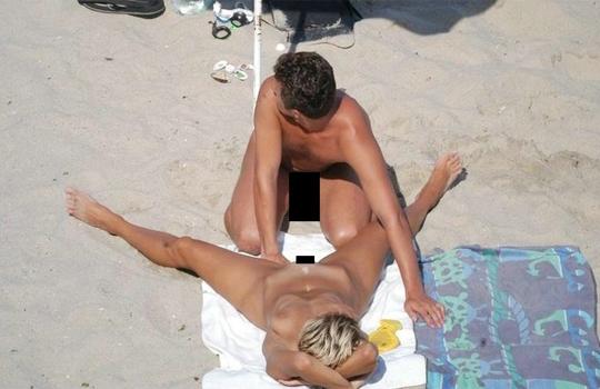 【エログロ】ヌーディストビーチで激写されたエログロ画像がすごいw
