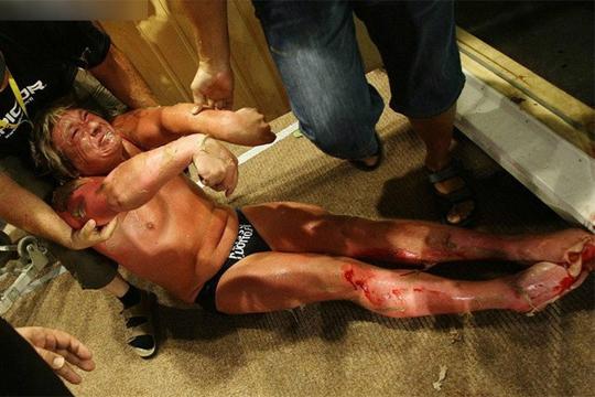 【閲覧注意】今さらだけど2010年のサウナ我慢大会で死んだ人の画像ってやばいよね