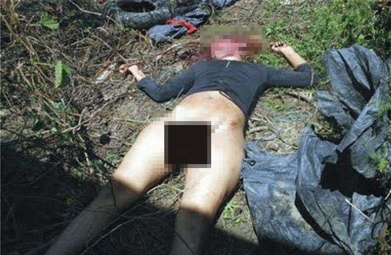 【レイプ殺人】20歳の少女。レ●プした後なぜここまでやる必要があるのか(9枚)