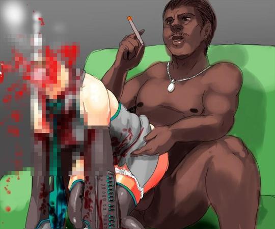 【2次元エログロ】女の子が壊れそうになっていたり血まみれになっていたり肉片になっていたりする無残なリョナ画像まとめたったw