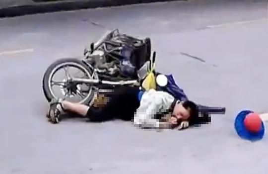 【閲覧注意:事故】中国で事故で負傷し動けなくなってしまった場合、どうなってしまうのか