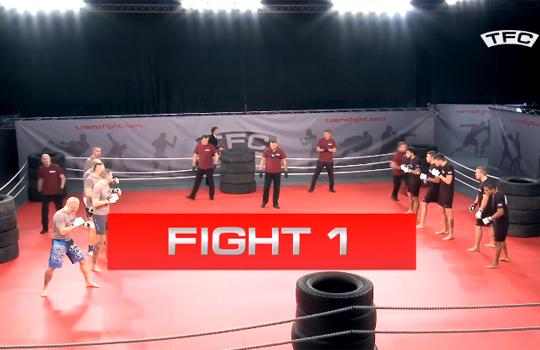 【格闘技】5vs5の総合格闘技の試合がクレイジー過ぎるw