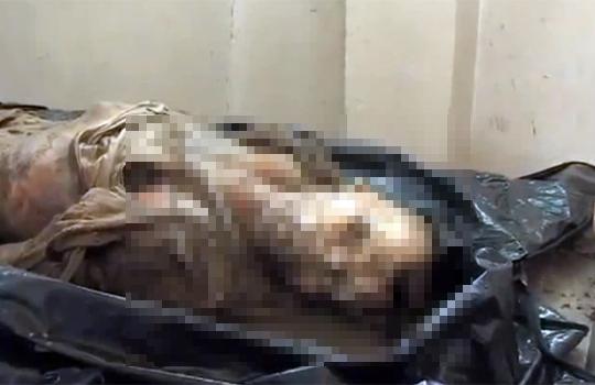 【閲覧注意:死体】遺体安置所で置き去り、ドロドロに腐敗した遺体