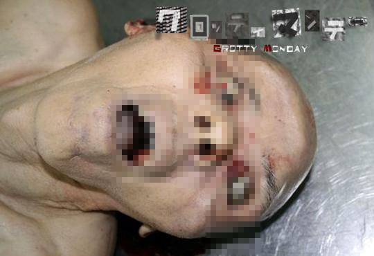 【グロ画像】顔これ01~顔面グロ死体これくしょん~【画像16枚】