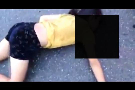 【超閲覧注意】事故した少女の痙攣映像…手が震えるくらい怖いんだが…※
