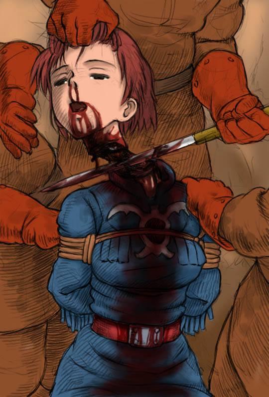 二次リョナ画像 エログロ 女の子