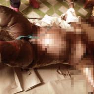 【グロ画像】首吊り死体はおすすめしない・・・その証拠がこれ・・・