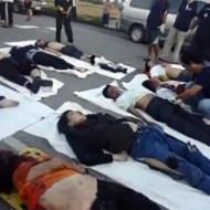 【グロ動画】タイでバスが大事故→中から大量のグロ死体が・・・
