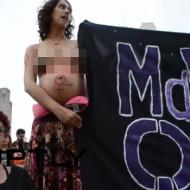 【衝撃映像】ブラジルの中絶合法化運動がエロすぎて勃起したw