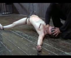 【エロ動画】美女を拘束して行う本物のSM映像・・・これで抜ける奴ドS過ぎるwww ※無修正 微グロ注意
