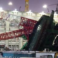 【死亡事故】サウジアラビア107人死亡クレーン事故の最新映像怖すぎ・・・