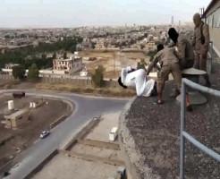 【イスラム】ISIS兵『ゲイ見つけたから屋上から突き落としまーっすwww』 閲覧注意