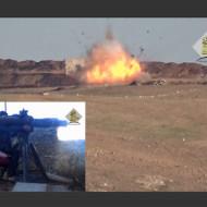 【イスラム国】人だかりに対戦車ミサイルをぶち込んだ結果www
