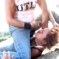 【ガチ喧嘩】美女同士が血ヘド吐くまで殴り合いするガチ喧嘩映像がこれwww