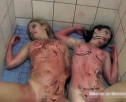 【エログロ】彼女が女性と浮気→セックス中に彼氏に射殺され死亡・・・