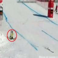 【悲報】W杯カナダ代表スキー選手が大会本番で転倒死 ※事故映像有り