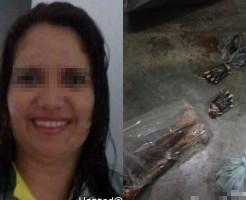 【グロ画像】メンヘラ彼女が彼氏を殺してバラバラに→ネットにうpする
