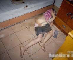 【本物レ●プ画像】犯されて糞尿垂れ流しながら殺された少女・・・