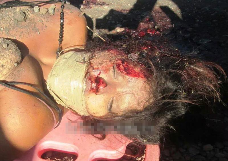 カルテルに殺された女の子の死体
