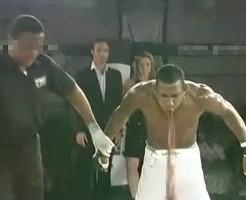 【衝撃】内臓に外的負担かけたらどうなるかボクサーが証明したのがコレ ※動画あり