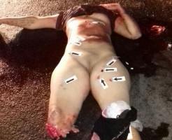 【バラバラ女】裸女のバラバラ死体が道路に落ちてたらとりあえずフリーズすると思う・・・ ※グロ画像