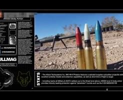 【衝撃映像】20mmのライフルで防弾チョッキ撃ったらどうなるか試してみた