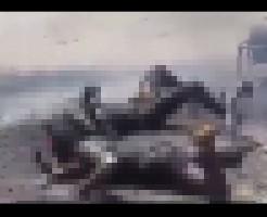 【空爆】ロシア空軍に空爆されたシリアの街中行ったら黒焦げ死体だらけだった・・・