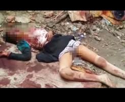 【レイプ殺人】12歳少女がレイプ後顔をボコボコに殴り殺された後がこれ・・・