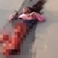 【女 死体】20メートル圏内に体のパーツが散らばってる女の子の死体ってどんな感じだと思う? ※グロ動画
