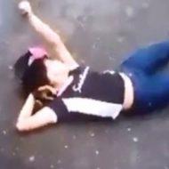 【閲覧注意】女の子殴ってたら痙攣し始めたんだが・・・ ※動画