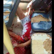 【グロ画像】バスの窓から顔を出していた10代の女の子が・・・・・・・・・ ※閲覧注意