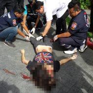 【グロ画像】17階から飛び降りた女の子 体の損壊は少ないけど見た瞬間もうダメだと分かる・・・ ※閲覧注意