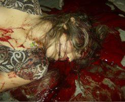 【グロ画像】女の子と目があった気がしたけど焦点合ってないしそもそも血まみれで死んでた ※閲覧注意