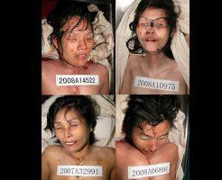 【グロ画像】アジア系の女の子たちの死に顔をまとめてみた ※画像20枚