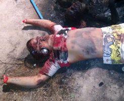 【グロ画像】ブラジルってどんなイメージ??とんでもない殺され方した人間の写真貼ってく