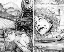 【グロ 画像】裸の女に行われてる海外の拷問画像 鬼畜過ぎ
