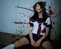 【JK 死体】鬼畜注意 43ヶ所ナイフで刺され挙句の果てには燃やされて殺された女子校生をご覧ください・・・