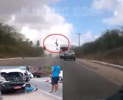 【少女死体】バイクに乗った女の子が宙に舞って死ぬ瞬間って見たことある? ※グロ動画